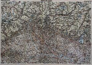 'Carta geografica cancellata' di Emilio Isgrò