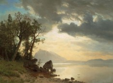 Albert Bierstadt, Il lago Tahoe, California, 1867