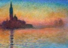 Claude Monet, San Giorgio Maggiore al tramonto, 1908
