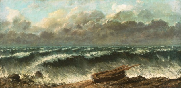 Gustave Courbet, Onde, 1869