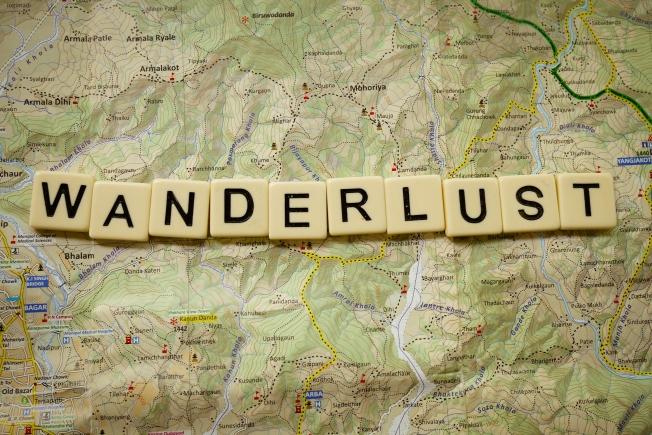 wanderlust..