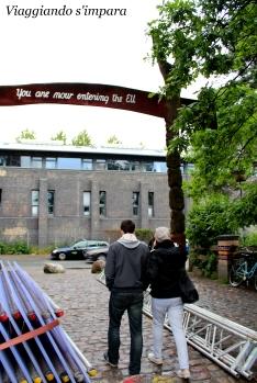 Uscendo da Christiania si entra automaticamente nell'EU