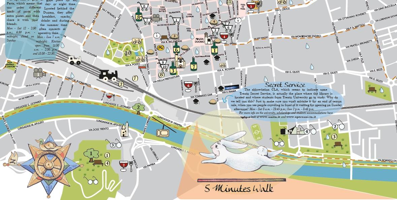 Trento Vista Dai Locals In Una Mappa Viaggiando S Impara