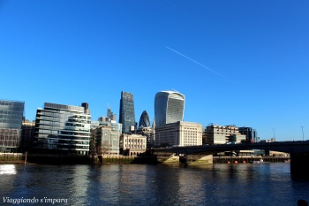 I moderni edifici di Londra
