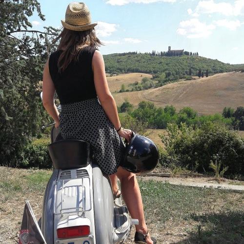 Viaggiando in Lambretta in Toscana